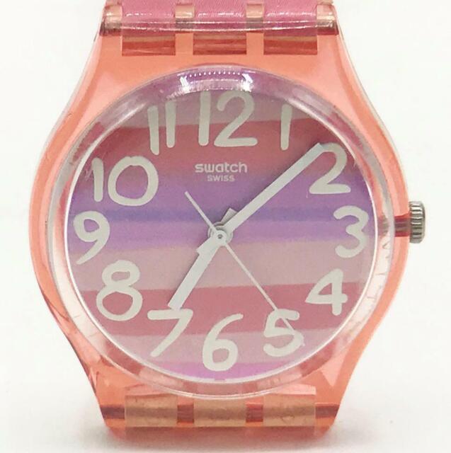 Swatch Astilbe Multi Dial Plastic Quartz Ladies Watch Gp140 For