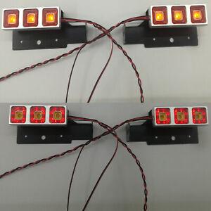 1-14-Metal-LED-Tail-Light-Bar-for-Tamiya-Man-620-1851-3363-56352-Tractor-Trailer