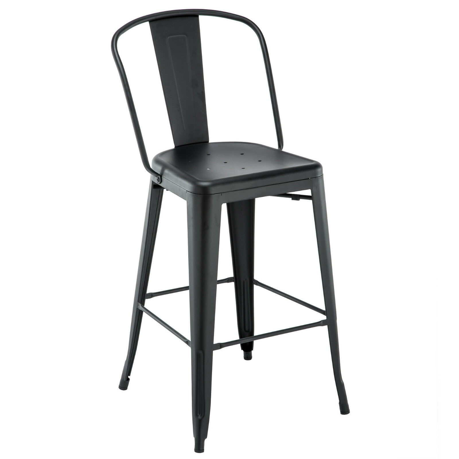 Surprising Details About New Oversized Viktor Steel Restaurant Bar Stool With Black Powder Coat Finish Alphanode Cool Chair Designs And Ideas Alphanodeonline