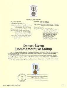 9132-29c-Desert-Storm-Stamp-2551-USPS-Souvenir-Page