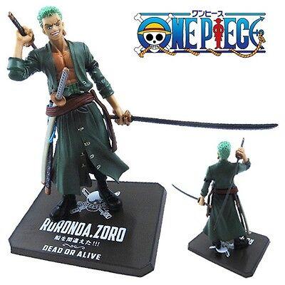 "One Piece Zoro Strong World Zero 13cm/5.2"" PVC Figure New No Box"