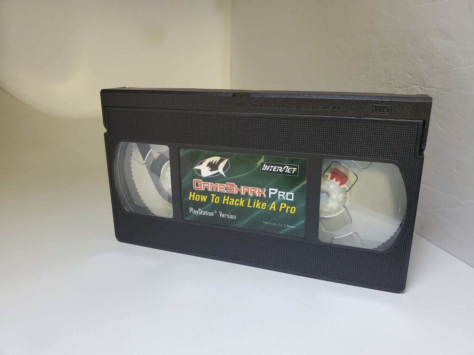 NEW GameShark Pro How To Hack Like a Pro VHS Playstation -TAPE ONLY G25