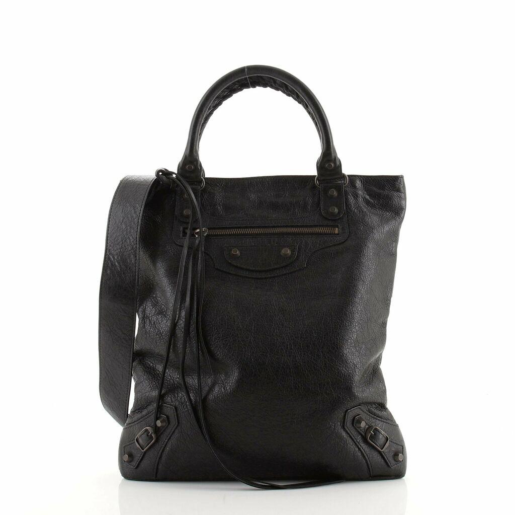 Balenciaga Convertible Tote Classic Studs Leather Medium  | eBay