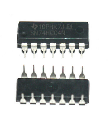 10 PCS SN74HC04N DIP-14 74HC04N 74HC04 HC04 Hex inverter New  Cheap
