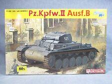 DRAGON model kit 6572 - Open Box - Pz.Kpfw.II Ausf B - 1:35 scale