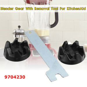 2pcs-Blender-Rubber-Coupler-Gear-Clutch-w-Spindle-Tool-For-KitchenAid-9704230