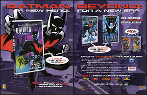 BATMAN-BEYOND-Original-1999-Trade-Print-AD-ADVERTISEMENT-vid-movie-promo-ad