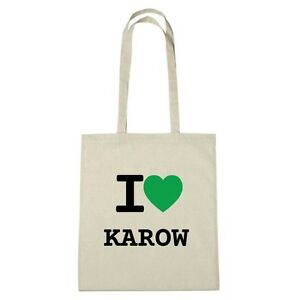 Borsa Jute Karow I Ambiente Colore Eco Love naturale B6rB4