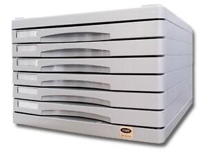 Cassettiera-in-ABS-a-6-cassetti-sovrapponibile-con-piano-superiore-portafogli