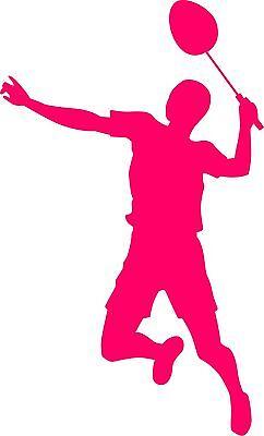 Nice Autroaufkleber Badminton 083 Federball Sticker Aufkleber Providing Amenities For The People; Making Life Easier For The Population Weitere Ballsportarten