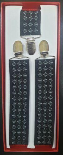 35mm Wide Unisex Womens Mens Braces Gift Boxed Y Suspenders Random Designs UK