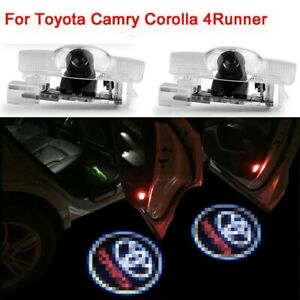 2pcs For Toyota Door Led Logo Projector Ghost Shadow Lights Car