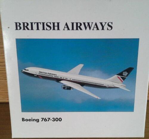 NEW HERPA WINGS 502733 BRITISH AIRWAYS BOEING 767-300 MIB 1:500 SCALE DIE CAST