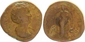 Sestertius 141V. Chr. Antiguo/Romanos Época Imperial / Faustina I Ceres N. L.