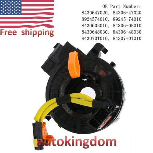 Clock Spring Airbag Spiral Cable 84307-47020 84306-47020 For TOYOTA Prius Yaris