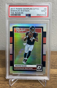 2017 Panini Donruss Optic DESHAUN WATSON The Rookies RC PSA 9 MINT #8 RC