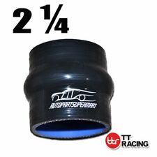 """HPS 2.25/""""/>2.75/"""" ID Blue 4Ply Silicone 45 Degree Elbow Reducer Hose 57mm/>70mm"""