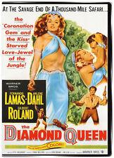 The Diamond Queen 1953 DVD - Fernando Lamas Arlene Dahl Gilbert Roland