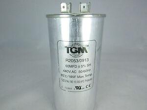 Run Capacitors 45MFD x 440V for A//C /& Refrigeration compressors /& motors New