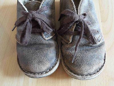 BABY GAP coole gefütterte Boots used look Gr. 11 / 29 (OA814)