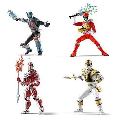 Hasbro power rangers Lightning collection Wave 1-Lot de 4