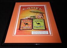 2004 Camel Cigarettes Pleasure to Burn Framed ORIGINAL Vintage Advertisement