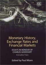 Monetary History Exchange Rates and Financial Markets: Essays in Honou-ExLibrary
