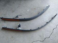 03 04 05 06 07 Saab 9 3 93 Front Left Amp Right Side Bumper Molding Trim Black Oem