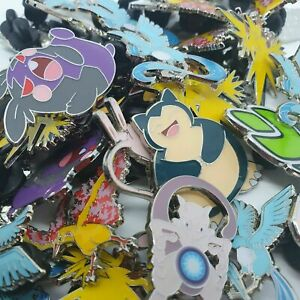 Random Pokemon Pin Badges - Official TCG Pins - All Different