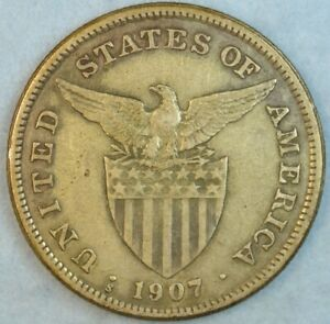 US-PHILIPPINES-ONE-PESO-1907-S-Filipinas-UNITED-STATES-OF-AMERICA-36161