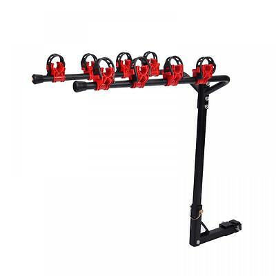 4 Bicycle Bike Rack Bicycle Hitch Mount Carrier Car Truck Auto Racks SUV New C35
