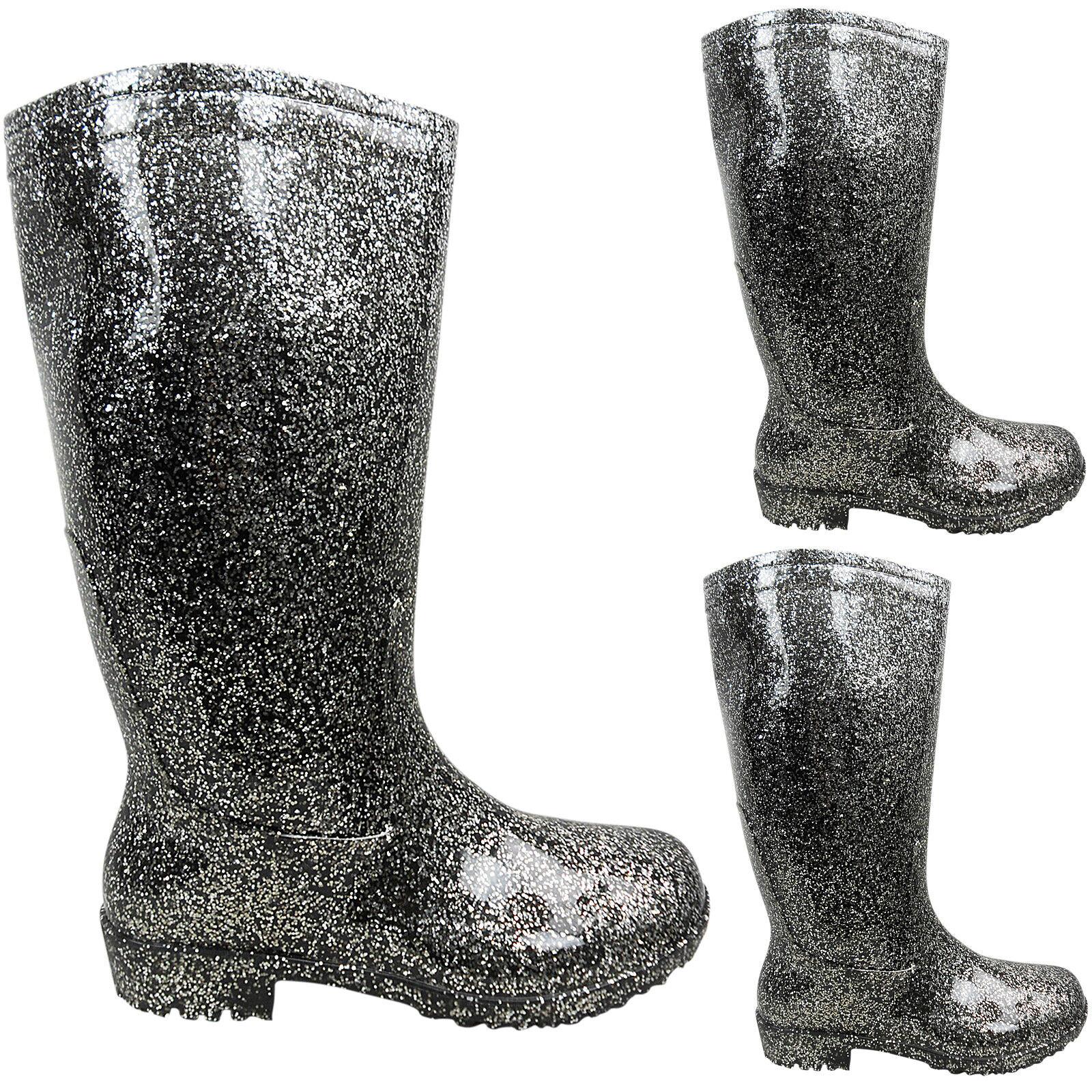 Ladies Womens Waterproof Wellies Wellington Rain Snow Knee Boots Shoes Size Muck