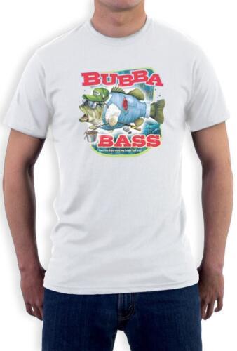 Bubba Bass Funny Fisherman T-Shirt Unique Design