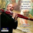 Devienne, Danzi, Françaix, Molinelli: Works for Bassoon and Strings (2015)