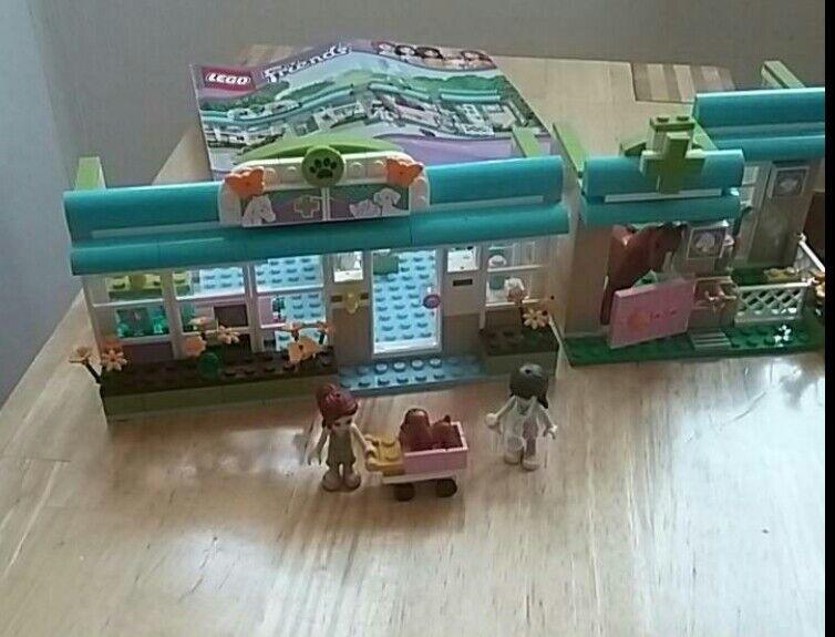 Lego 3188  Lego Friends Tierklinik neuwertig