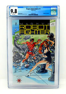 MAGNUS-ROBOT-FIGHTER-CGC-9-8-Valiant-1991-White-Pages