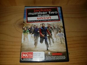 Jackass-Number-Two-The-Movie-Uncut-DVD-In-Very-Good-Condition