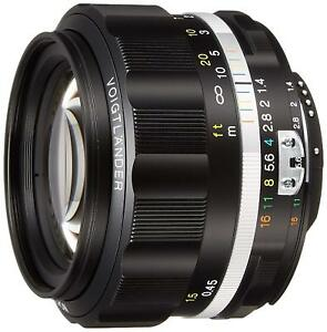 2016-NEW-Voigtlander-NOKTON-58mm-F1-4-SL-II-S-for-Nikon-F-black-rim