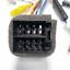 ISO-20Pin-Arnes-de-cableado-Conector-Con-Adaptador-de-camara-de-vision-trasera-para-auto-Stereo-DVD miniatura 3