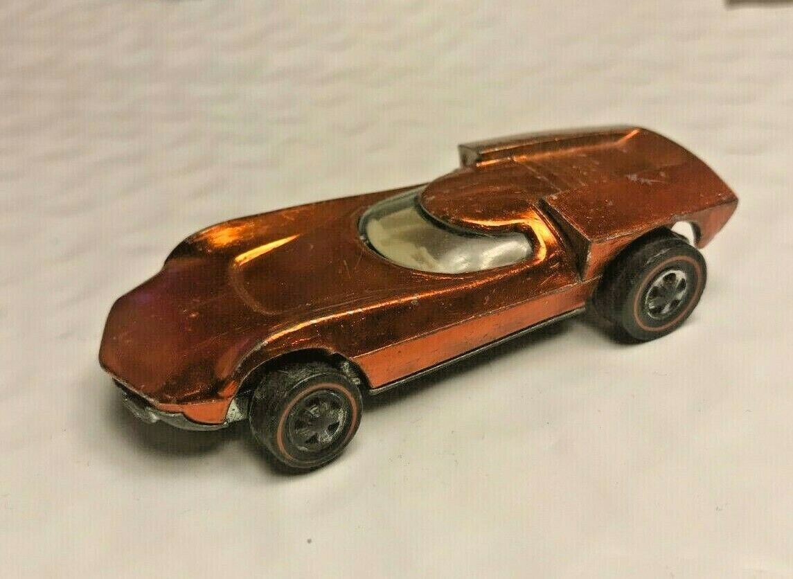 HOT WHEELS rot LINE 1970 TURBOFIRE Orange w  Weiß INT Great CONDITION rotline