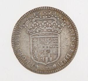 Savoia-Vittorio-Amedeo-II-1-lira-Reggenza-della-Madre-1678-Exc-MB-M047
