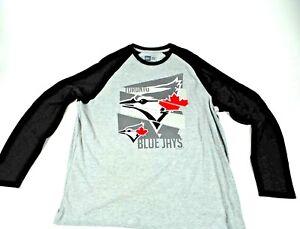 384427106 New Era Toronto Blue Jays 3 4 Sleeve T-Shirt MLB baseball