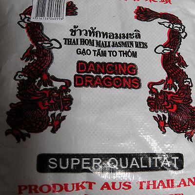 (1kg=2,11€)  THAI DUFTREIS 4,5 kg ! 1A QUALITÄT Dancing Dragon - Duft Bruch Reis