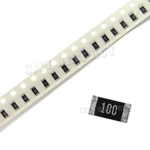 0402 5/% Chip Resistors SMD SMT 10R to 820K RoHS Pack of 100 UK Stock