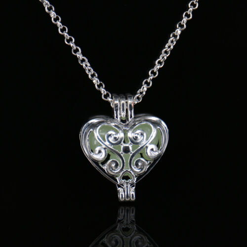 Multi Styles Punk Luminous Cage Drop Pendant Necklace Hollow Charm Chain Jewelry
