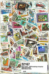 WORLDWIDE-3000-DIFFERENT-STAMPS-32167-FREE-GIFT