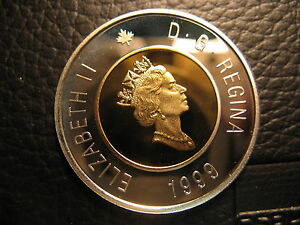 Canada-1999-2-Cent-Gem-Perfect-Coin-From-Mint-Set