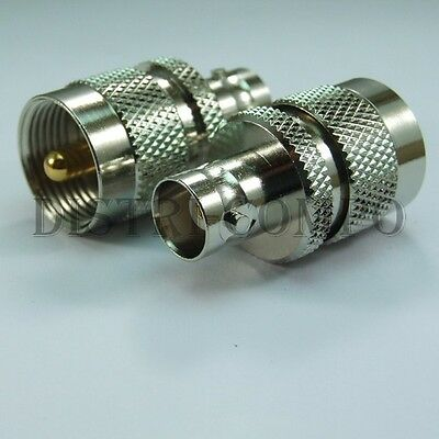 Adaptateur coudé UHF femelle vers UHF mâle lot de 2