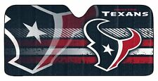 Houston Texans Auto Sun Shade [NEW] NFL Car Truck Window Reflective Cover 59x27