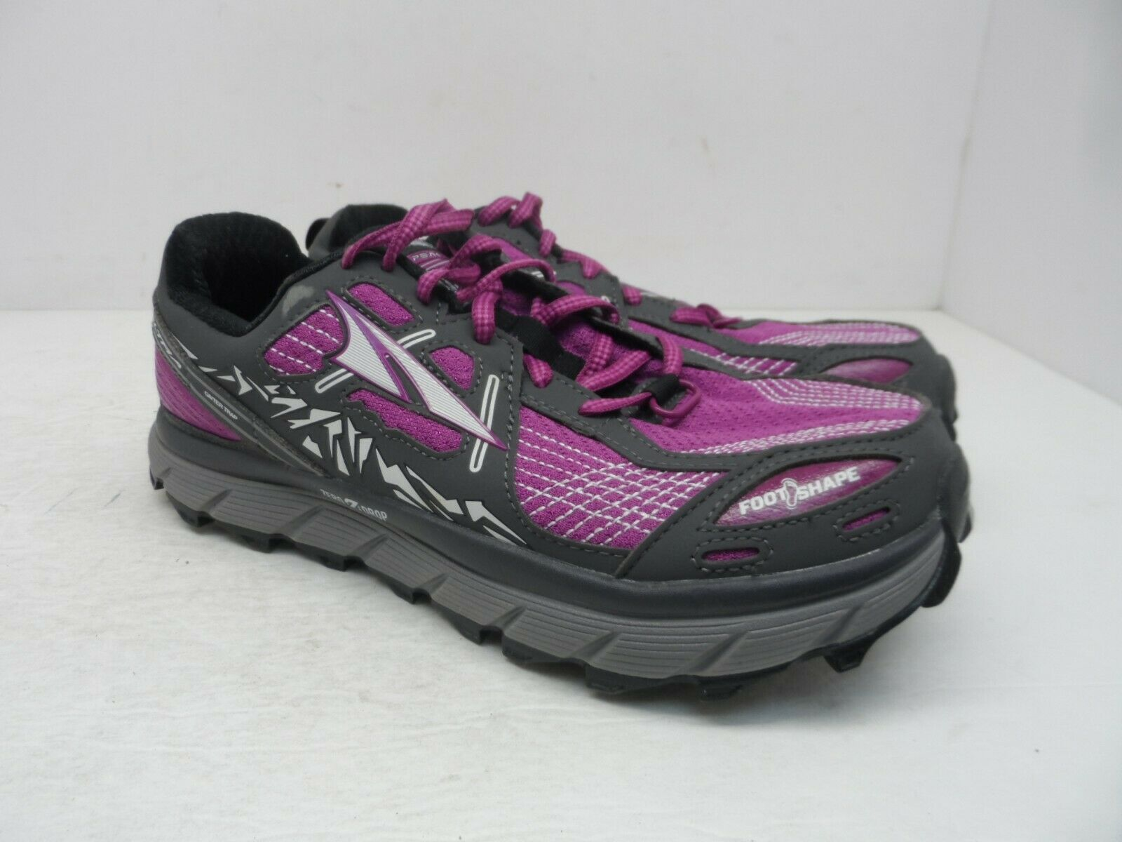 Altra Women's Lone Peak 3.5 Trail Running shoes AFW1755F-1 Purple Size 7M